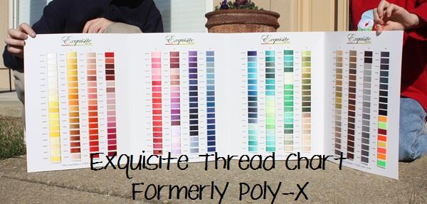 My Favorite Thread Colors Applique Cafe Blog