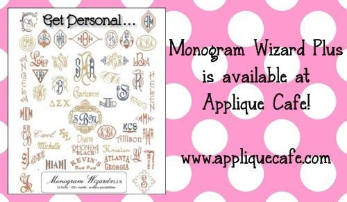 Monogram wizard plus saving stitch file youtube.