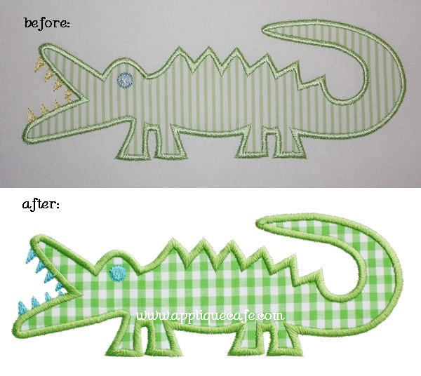 alligator 600-vert