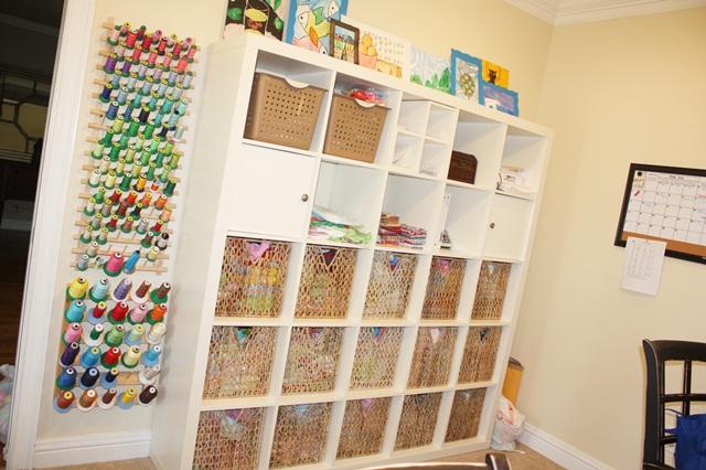 Sewing Room Organization Applique Cafe Blog