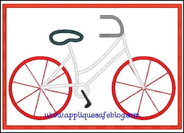 Bicycle Patch5x7