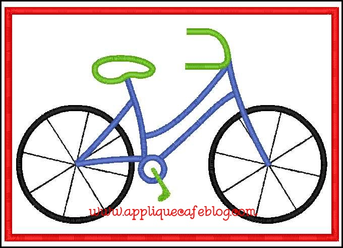 Bicycle Patch5x7colors