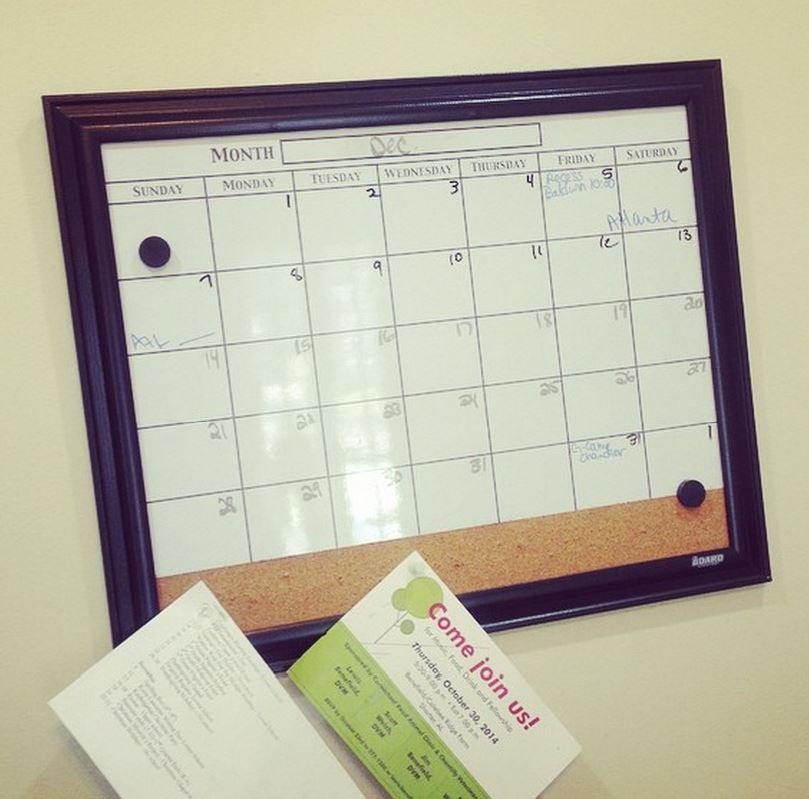 calendar blog post