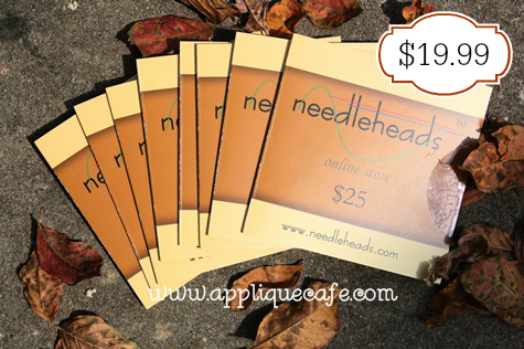 Needleheads gift card sale