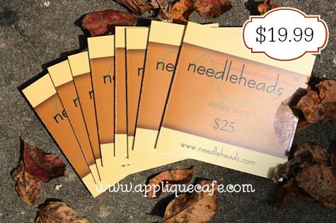 Needleheads gift card sale