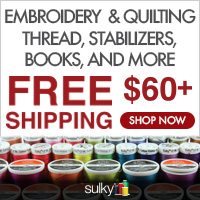 Sulky Embroidery Supplies